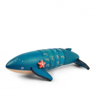 Jean Cultural知音文創 轉動萬年曆-座頭鯨