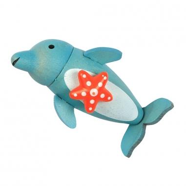 Jean Cultural知音文創 動物磁鐵夾-海豚