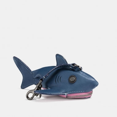 Coach蔻馳(精品) SHARKY 造型零錢包