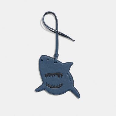 Coach蔻馳(精品) SHARKY吊飾