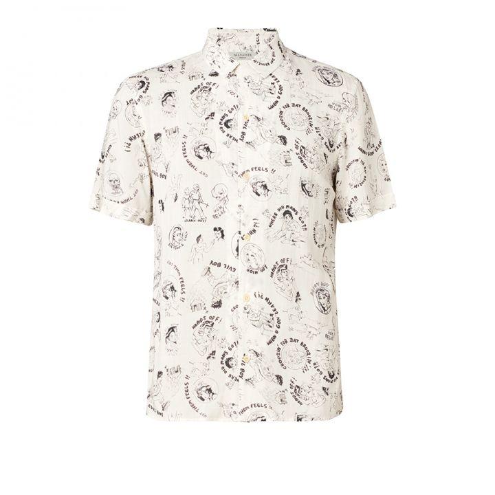 AllSaints歐聖 男性襯衫