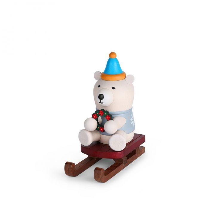 Jean Cultural知音文創 木質手機座-北極熊