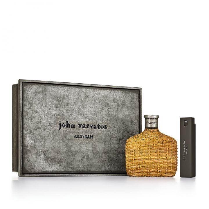 JOHN VARVATOS約翰瓦維托斯 工匠藤編男性淡香水限量套組