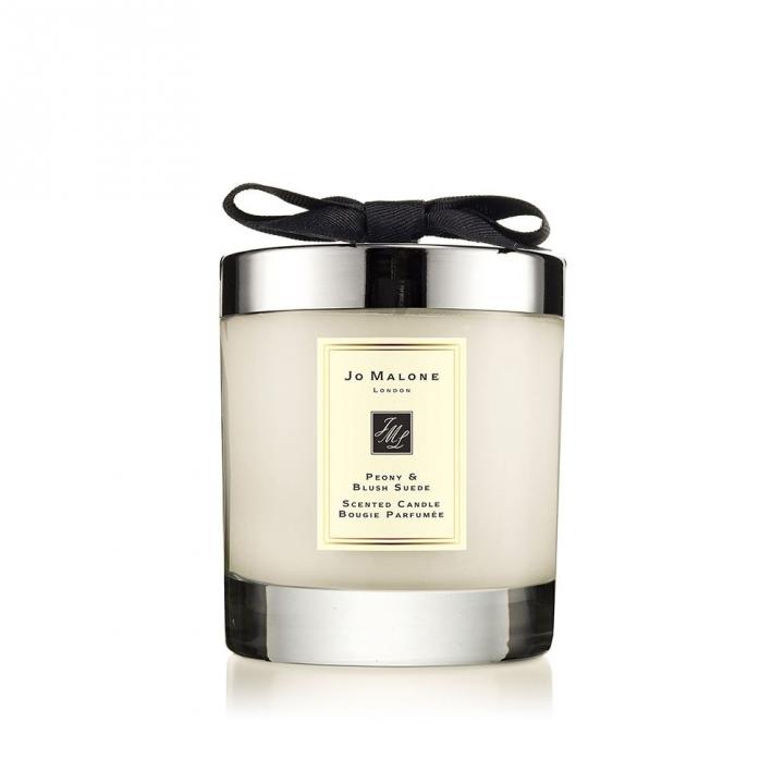 Peony & Blush Suede Home Candle牡丹與胭紅麂絨居室香氛工藝蠟燭