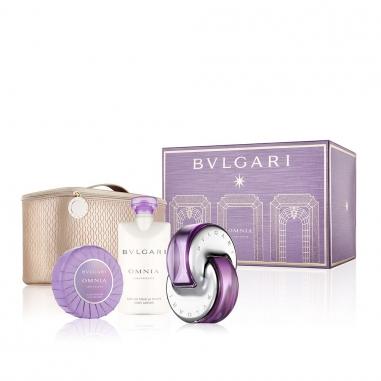 BVLGARI寶格麗 《耶誕限量》紫水晶香水聖誕套組