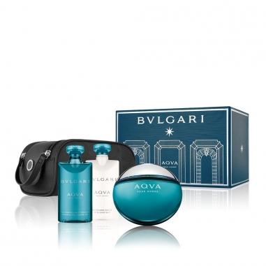 BVLGARI寶格麗 《耶誕限量》碧藍水能量男性香水聖誕套組