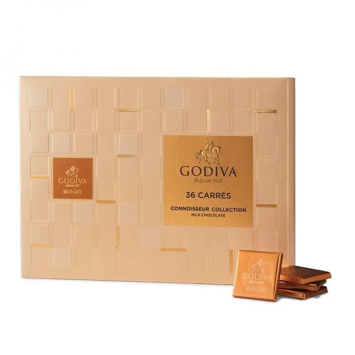 GodivaGodiva 《滿額送1》片裝牛奶巧克力禮盒