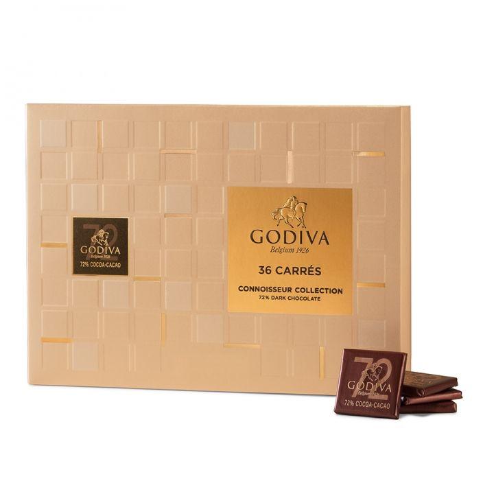 GodivaGodiva 《滿額送1》片裝72%黑巧克力禮盒