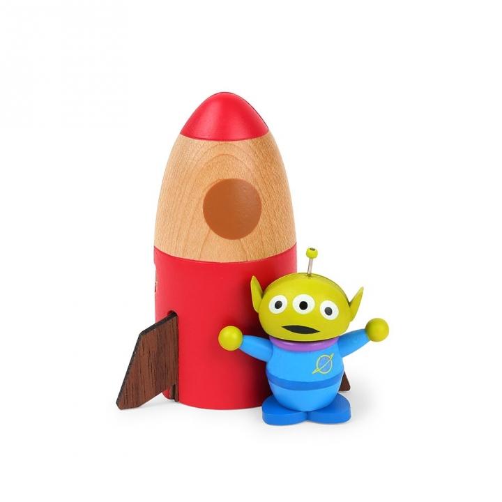 Wooden memo-Toy Story Alien木質Memo夾-DISNEY三眼怪