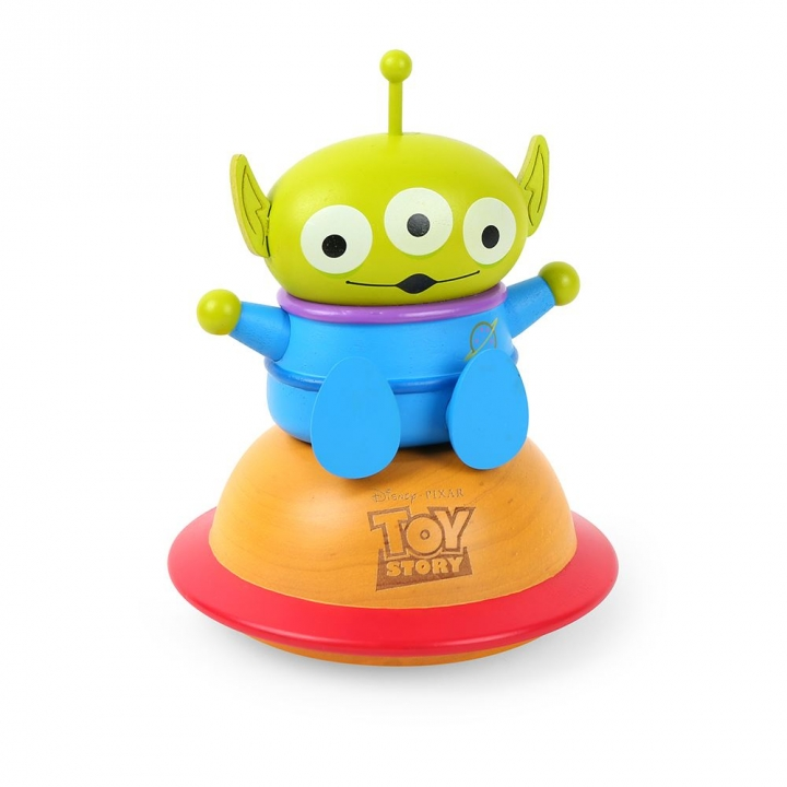 Turn Round Music Box-Toy Story Alien轉身音樂鈴-DISNEY三眼怪
