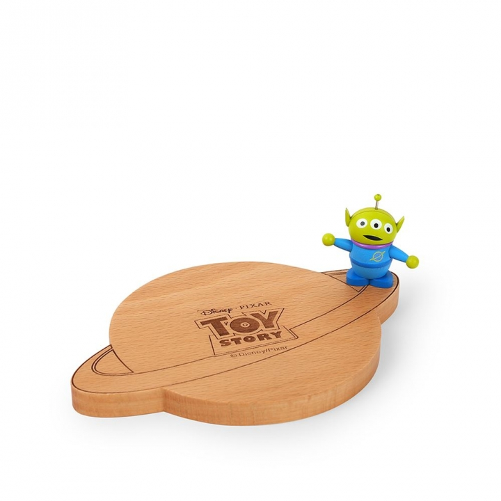 Wooden Coaster-Toy Story Alien木製杯墊-DISNEY三眼怪
