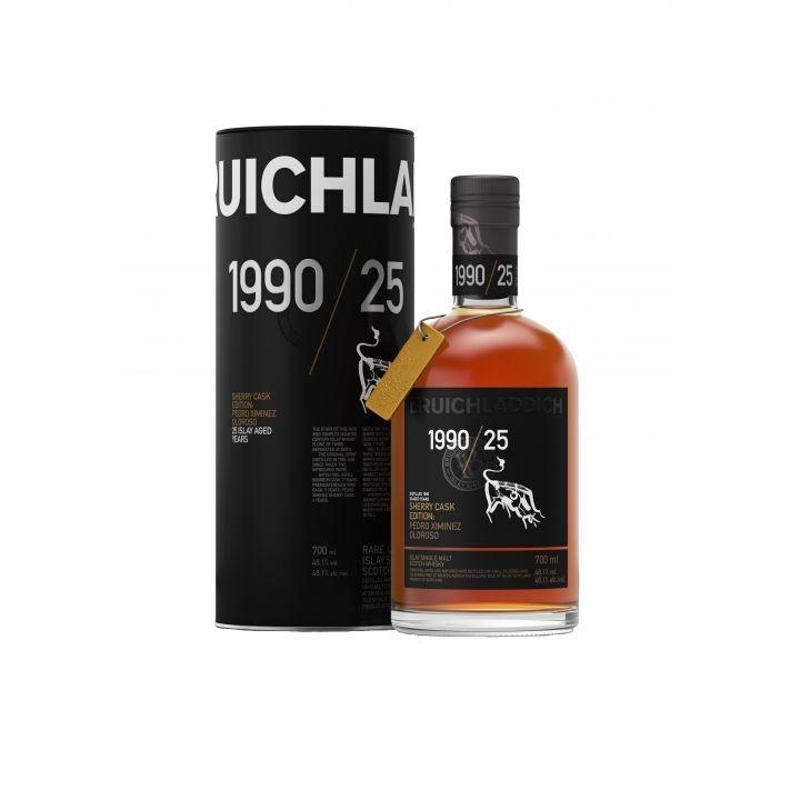 Bruichladdich布萊迪 1990/25 Sherry Cask Edition酒