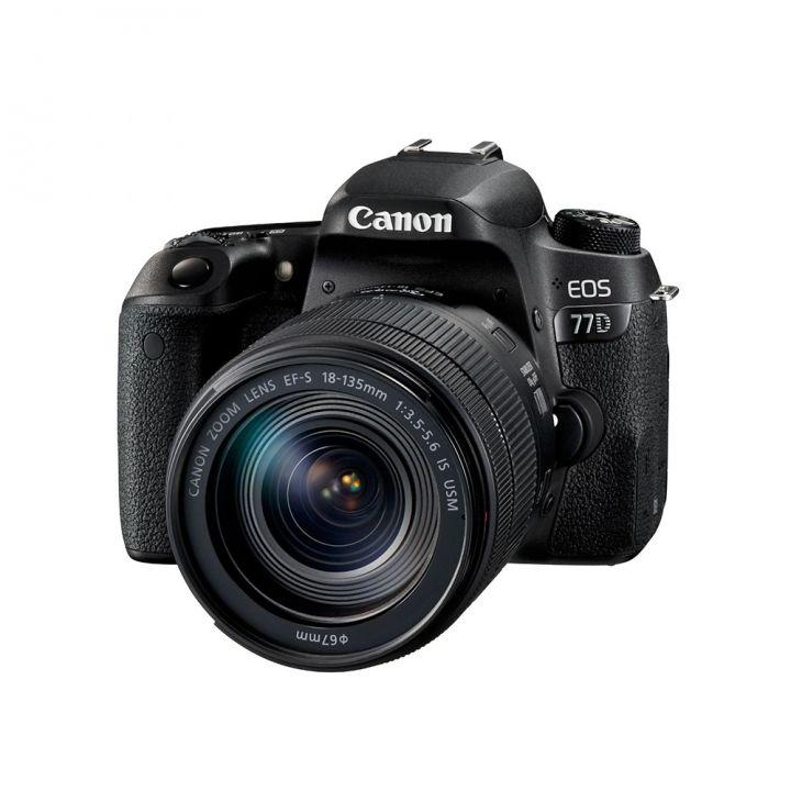 Canon佳能 EOS 77D單鏡組EF-S 18-135