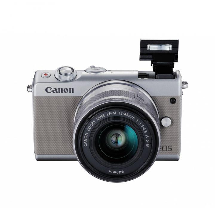 Canon佳能 《送64G記憶卡》EOS M100 15-45單眼數位相機