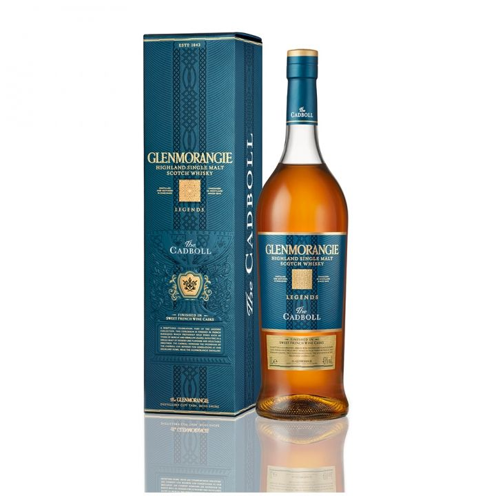 Glenmorangie格蘭傑 《滿額送旅行袋》藍標法國甜酒桶單一麥芽威士忌