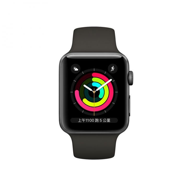 AppleApple Apple Watch S3 42mm智慧型手錶 太空灰