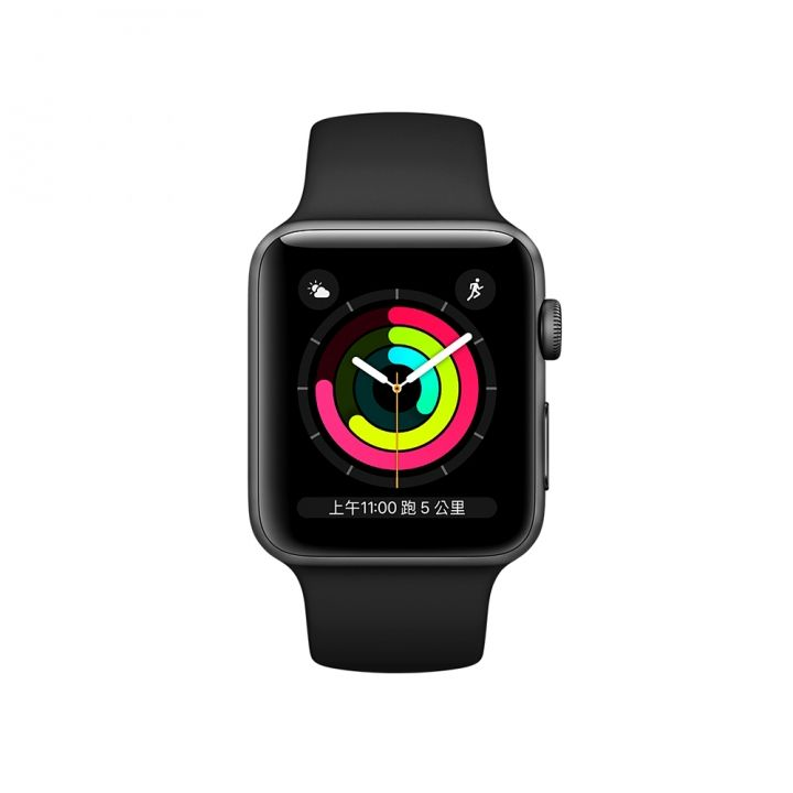 AppleApple Apple Watch S3 42mm智慧型手錶 黑色