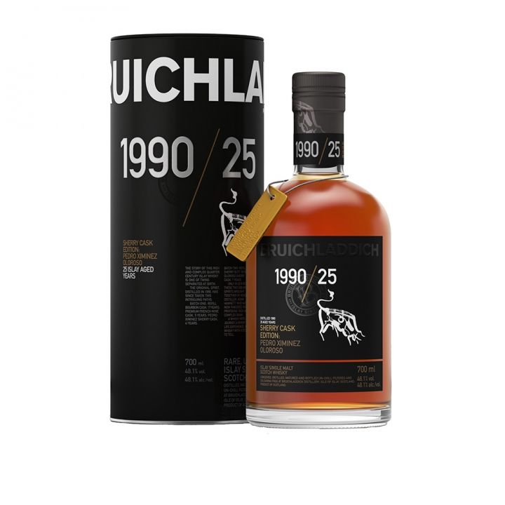 Bruichladdich布萊迪 1990/25 Sherry Cask Edition酒