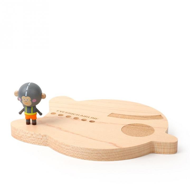 Wooden Coaster-A Momo航空杯墊-A MOMO