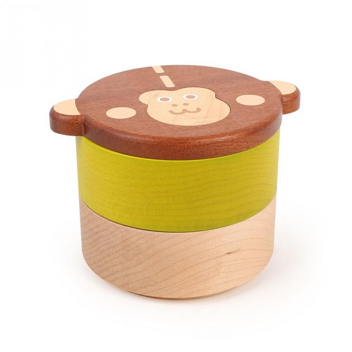 Wooden Keepsake Box-A Momo雙層置物盒-A MOMO大頭