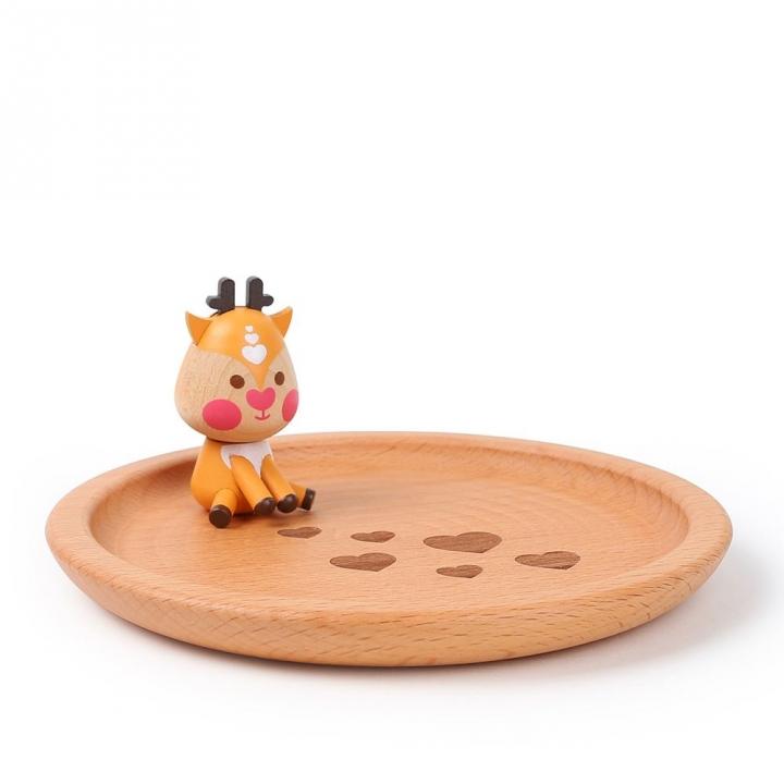 Wooden Keepsake Box-Xin Xin飾品盤-心心集心