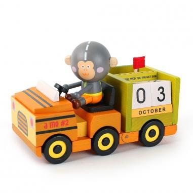 Jean Cultural知音文創 萬年曆-A MOMO出勤車車