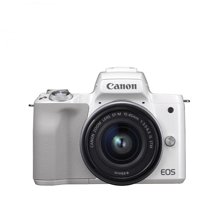 Canon佳能 EOS M50 15-45時尚白單鏡組