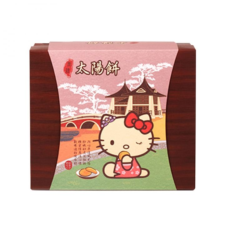 Hello KittyHello Kitty 《同品項.買10送1》Hello Kitty台灣奉禮太陽餅