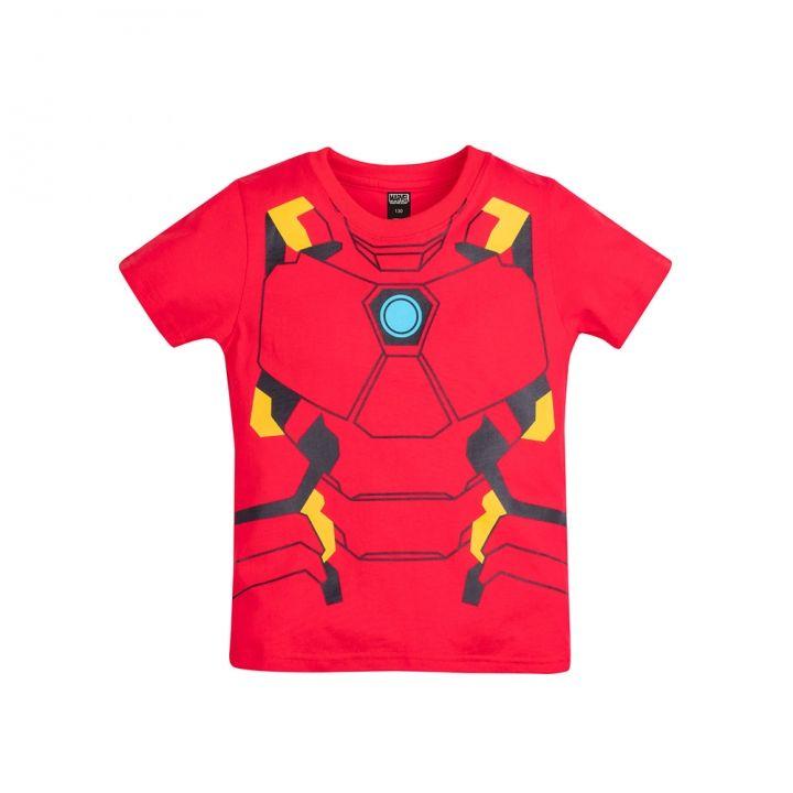 Beast Kingdom野獸國 Marvel系列兒童短袖T恤-鋼鐵人制服款