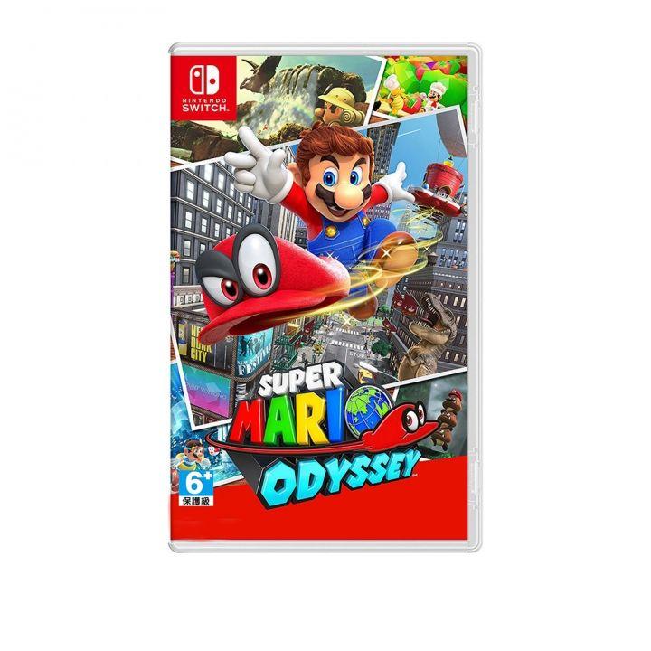 Nintendo任天堂 任天堂Switch-超級瑪利歐奧德賽中文版