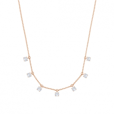 Swarovski施華洛世奇 ATTRACT:NECKLACE CHOKER CZWH/ROS鏈墜