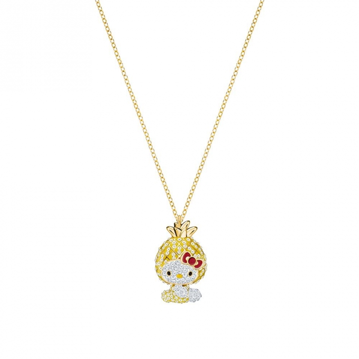 HELLO KITTY:PENDANT PINEAPPLE LMUL/GOSHELLO KITTY:PENDANT PINEAPPLE LMUL/GOS鏈墜(採購下架)