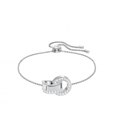 Swarovski施華洛世奇 HOLLOW:BRACELET CRY/RHS M手鍊