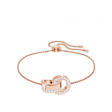 Swarovski施華洛世奇 HOLLOW:BRACELET CRY/ROS M手鍊