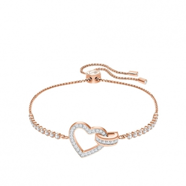 Swarovski施華洛世奇 LOVELY:BRACELET CRY/ROS M手鍊