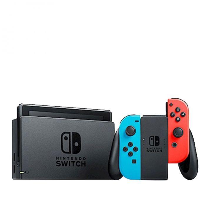 Nintendo任天堂 任天堂SWITCH主機 電光藍紅Joy-Con