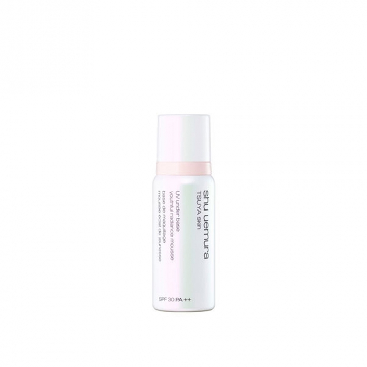 TSUYA skin UV under base youthful radiance mousseUV泡沫隔離霜-光燦水潤配方