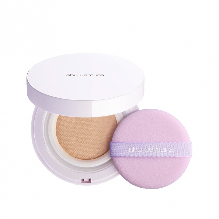 blanc:chroma brightening UV cushion foundation case with puff (no refill)亮白無瑕氣墊粉餅盒(含粉撲)