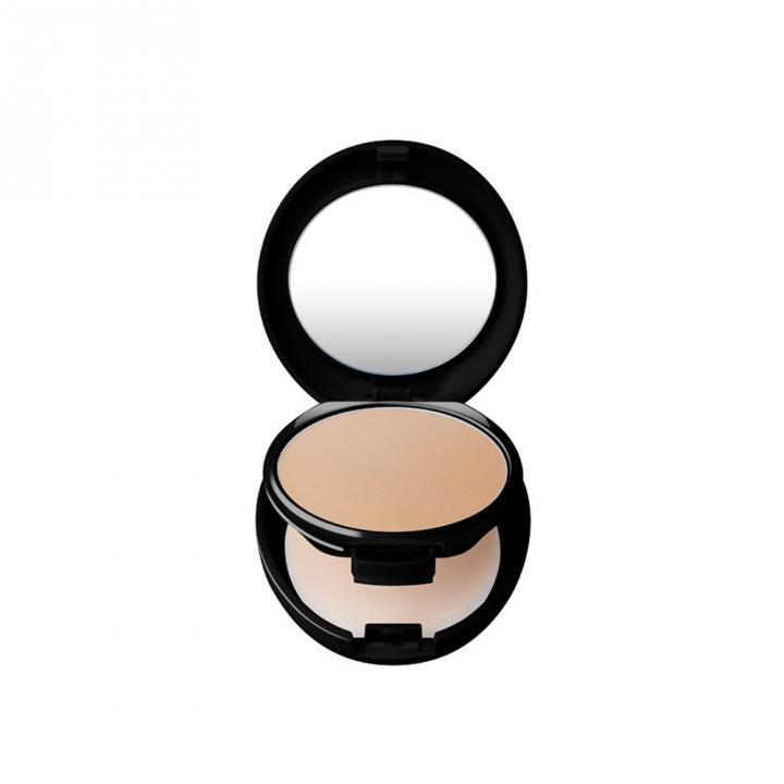 COMPACT CASE BLACK (NO REFILL)鑽石光粉餅粉盒-黑