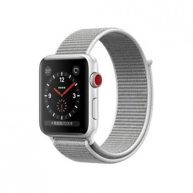 AppleApple Apple Watch S3 42mm智慧型手錶-銀鋁灰錶環(GPS+行動網路)