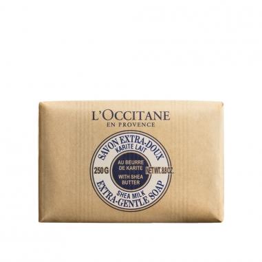 L'Occitane歐舒丹 乳木果護膚皂-牛奶