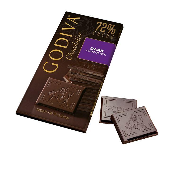 GodivaGodiva 72%黑巧克力磚