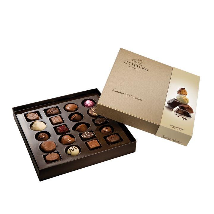 GodivaGodiva 白金系列巧克力