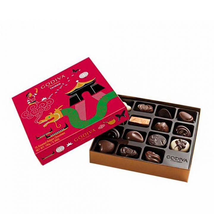GodivaGodiva 台灣紀念版綜合巧克力禮盒