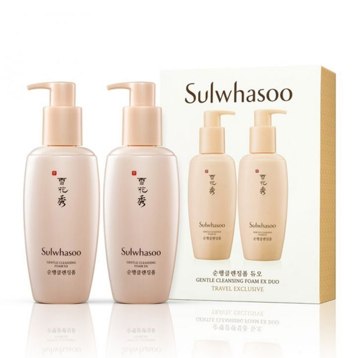 Sulwhasoo雪花秀 順行潔顏泡沫EX雙瓶特惠組
