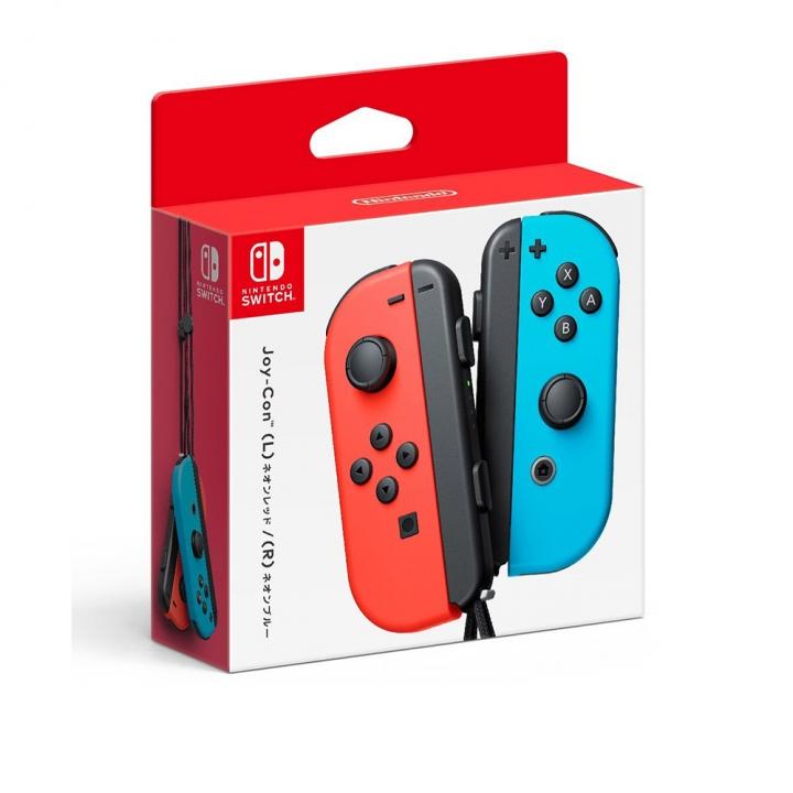 Nintendo Switch Joy-Con blue/red任天堂Switch Joy-Con 電光藍/電光紅色左右手把