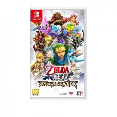 Nintendo任天堂 任天堂Switch-薩爾達無雙 海拉魯全明星豪華版