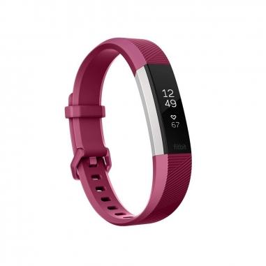 FitbitFitbit Alta HR心率運動手環-紫紅 L