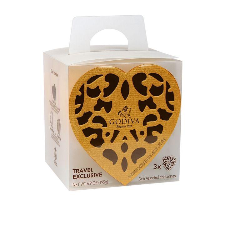 GodivaGodiva 金裝巧克力心形禮盒