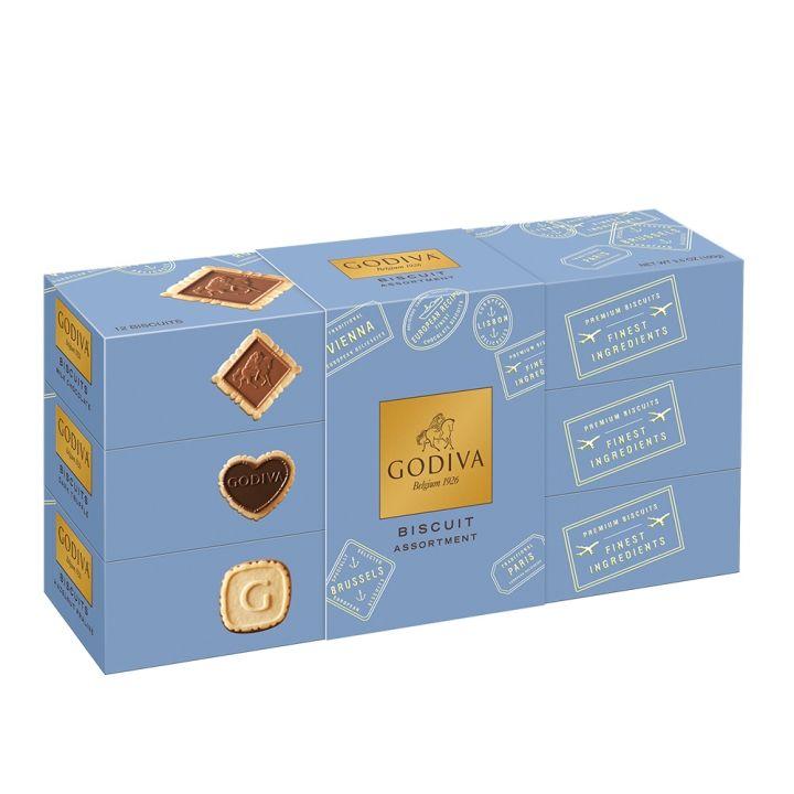 GodivaGodiva 經典巧克力綜合餅乾組